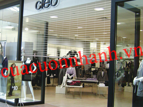 CỬA CUỐN TRONG SUỐT POLYCARBONATE