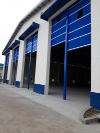Lắp đặt cửa cuốn nhanh Công Ty TNHH Foam Hwa Ching Đồng Nai