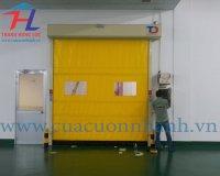 Cung cấp cửa cuốn nhanh PVC tại Bình Dương