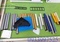 Khung kệ từ ống thép bọc nhựa, ống Inox 304