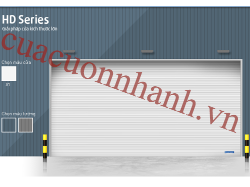 Cửa cuốn công nghiệp HD Series