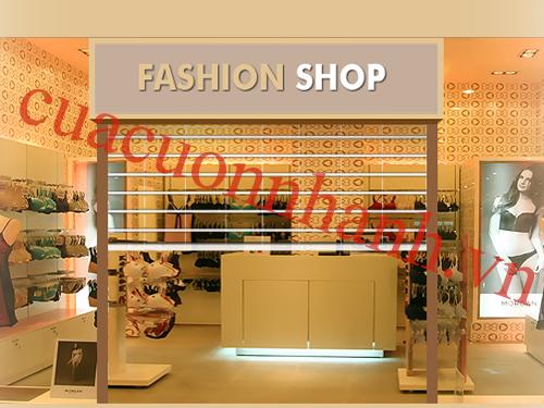 Cửa cuốn  trung tâm thương mại AustVision nan pc 550